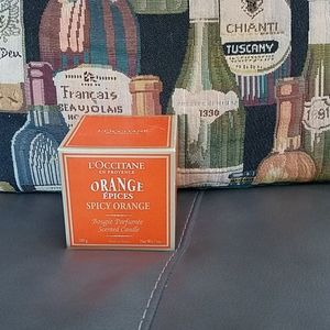L'Occitane candle orange spice..new